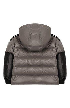 Пуховая куртка с капюшоном   Фото №2