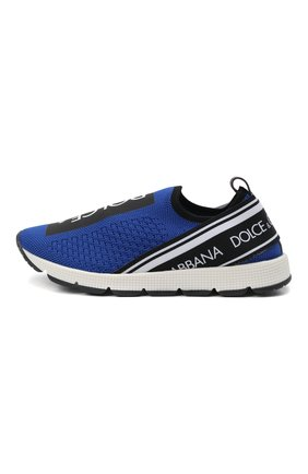 Детские кроссовки DOLCE & GABBANA синего цвета, арт. D10723/AH677/29-36 | Фото 2