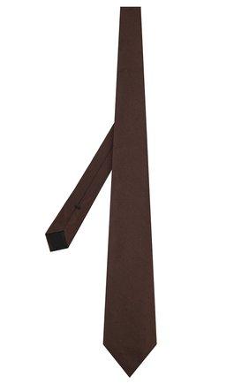 Мужской шелковый галстук TOM FORD коричневого цвета, арт. 6TF27/XTF   Фото 2