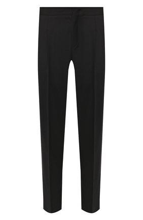 Мужской шерстяные брюки Z ZEGNA черного цвета, арт. 6ZF008/73GDC1 | Фото 1