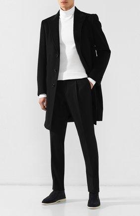 Мужской шерстяные брюки Z ZEGNA черного цвета, арт. 6ZF008/73GDC1 | Фото 2