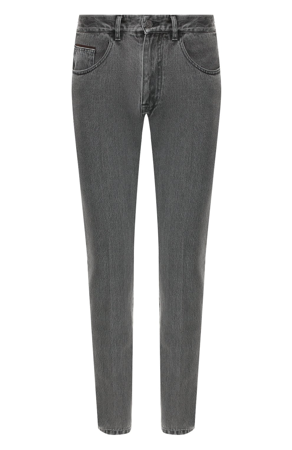 Мужские джинсы ERMENEGILDO ZEGNA серого цвета, арт. UTL03/JL02 | Фото 1