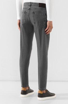 Мужские джинсы ERMENEGILDO ZEGNA серого цвета, арт. UTL03/JL02 | Фото 4