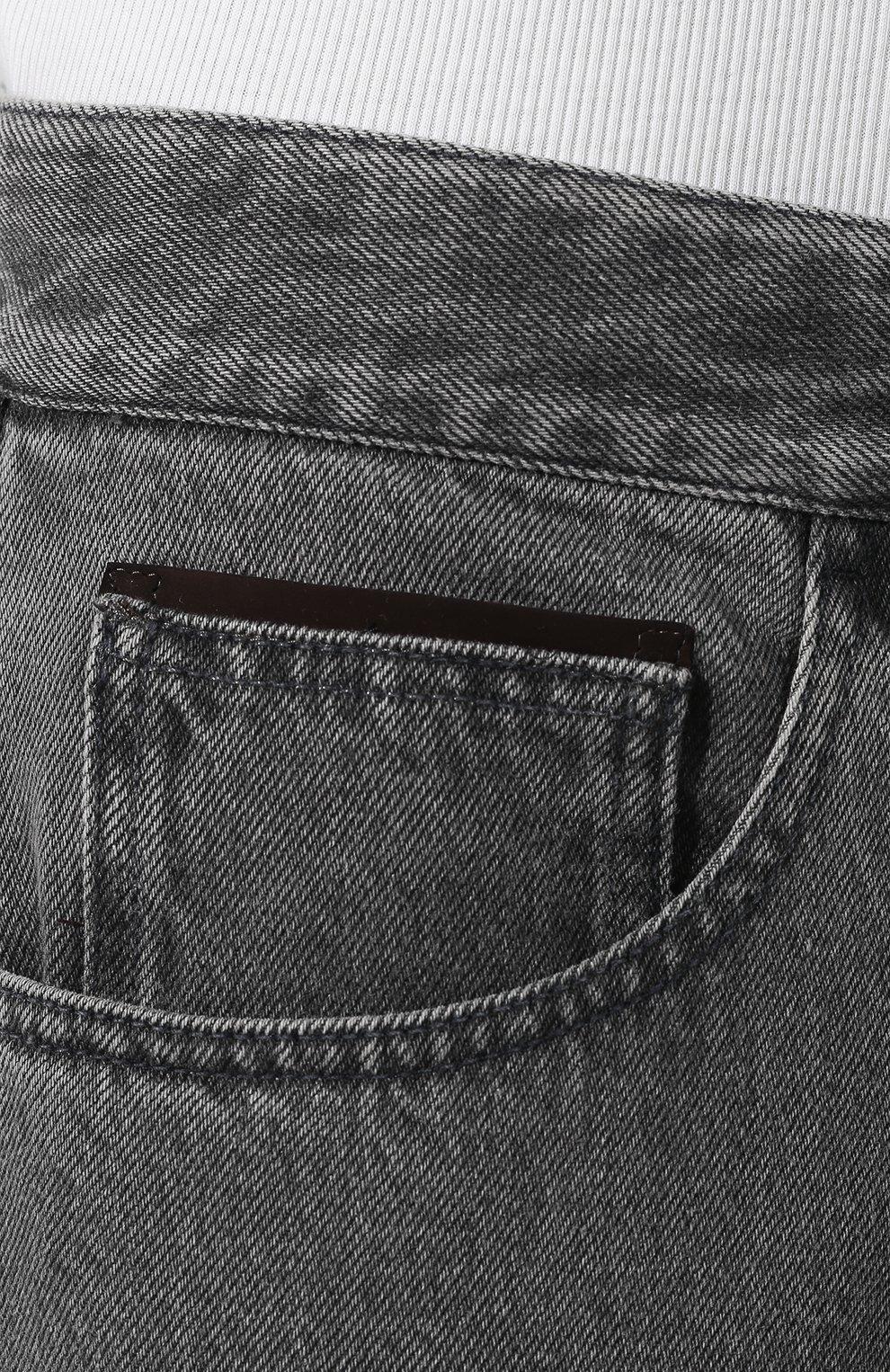 Мужские джинсы ERMENEGILDO ZEGNA серого цвета, арт. UTL03/JL02 | Фото 5