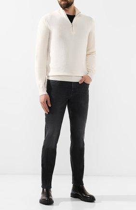 Мужские джинсы Z ZEGNA серого цвета, арт. VT736/ZZ563 | Фото 2
