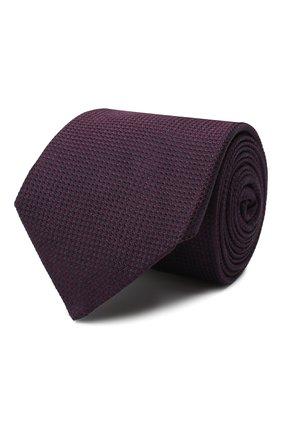 Мужской шелковый галстук CORNELIANI бордового цвета, арт. 84U302-9820306/00 | Фото 1