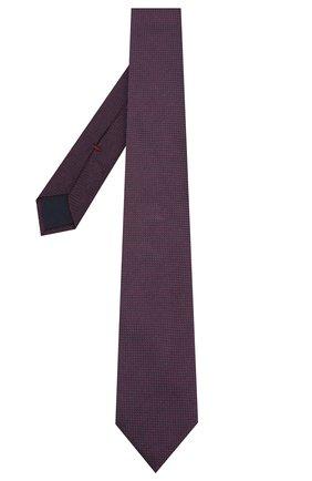 Мужской шелковый галстук CORNELIANI бордового цвета, арт. 84U302-9820306/00   Фото 2