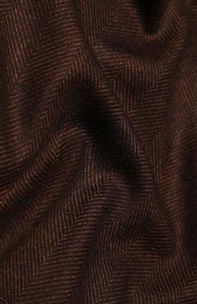 Мужской шарф из смеси шелка и кашемира CORNELIANI коричневого цвета, арт. 84B330-9829045/00 | Фото 2