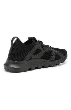 Мужские текстильные кроссовки Z ZEGNA черного цвета, арт. A4300X-LHTPU | Фото 4