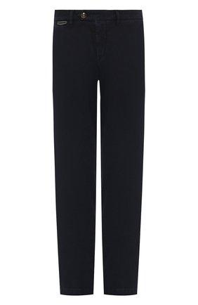 Мужской хлопковые брюки ELEVENTY UOMO темно-синего цвета, арт. 979PA0114 PAN24013 | Фото 1