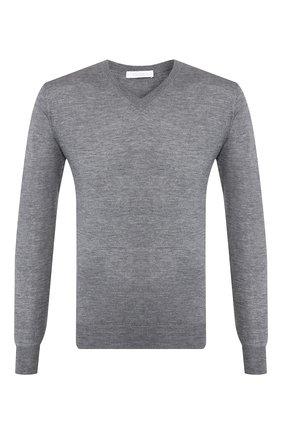 Пуловер из смеси кашемира и шелка   Фото №1