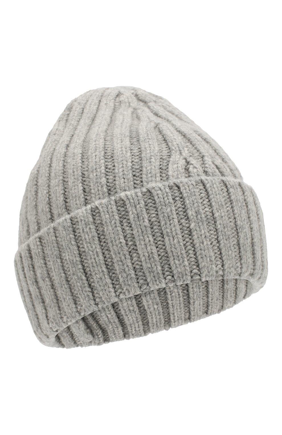 Мужская шерстяная шапка MAISON MARGIELA серого цвета, арт. S50TC0023/S16828   Фото 1