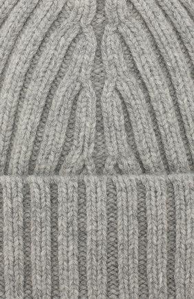 Мужская шерстяная шапка MAISON MARGIELA серого цвета, арт. S50TC0023/S16828   Фото 3