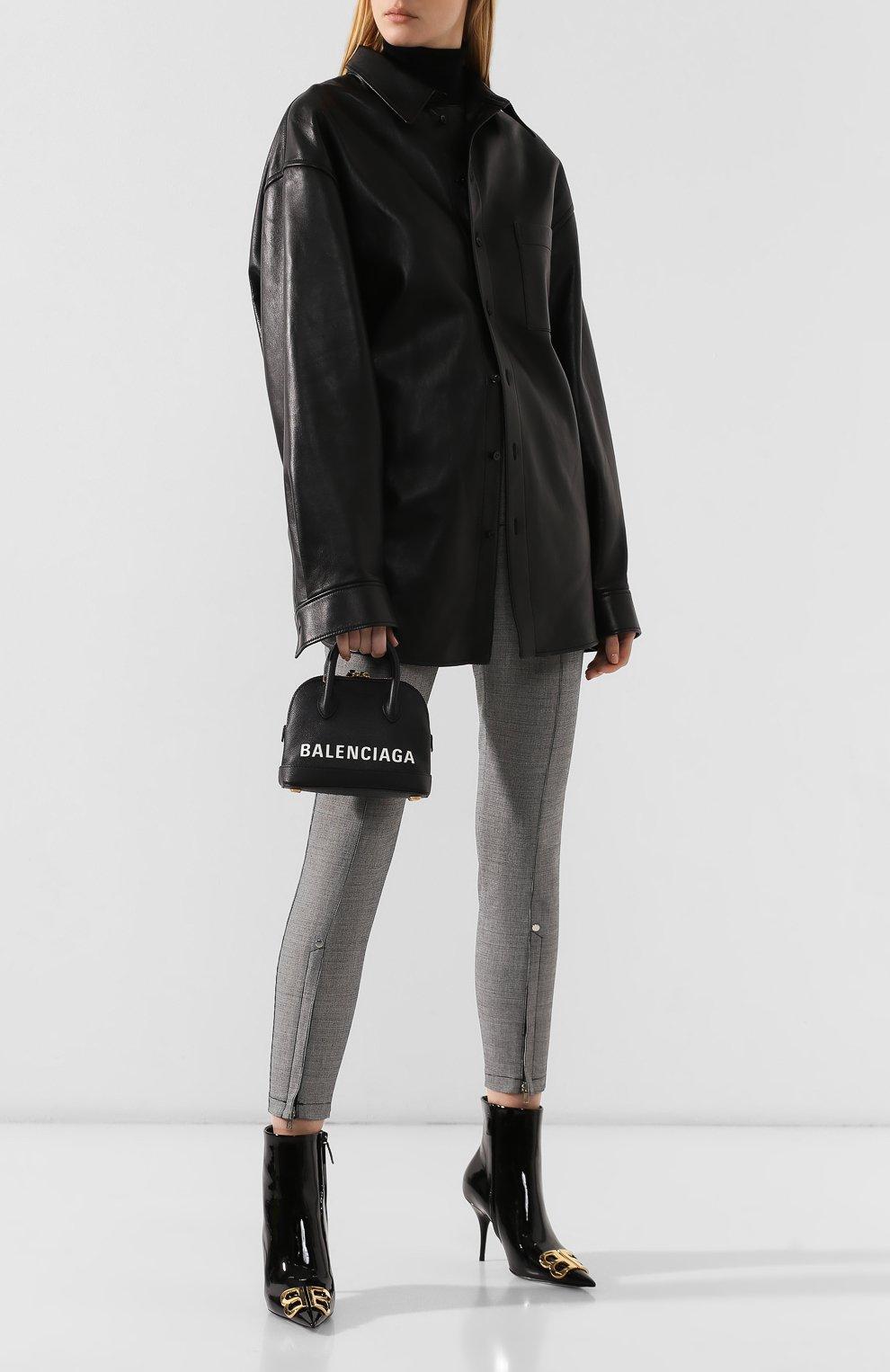 Сумка Ville XXS Balenciaga черная цвета | Фото №2
