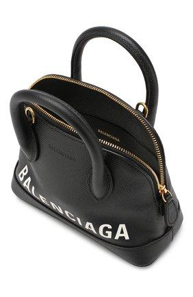 Сумка Ville XXS Balenciaga черная цвета | Фото №4