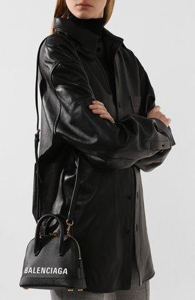 Сумка Ville XXS Balenciaga черная цвета | Фото №5