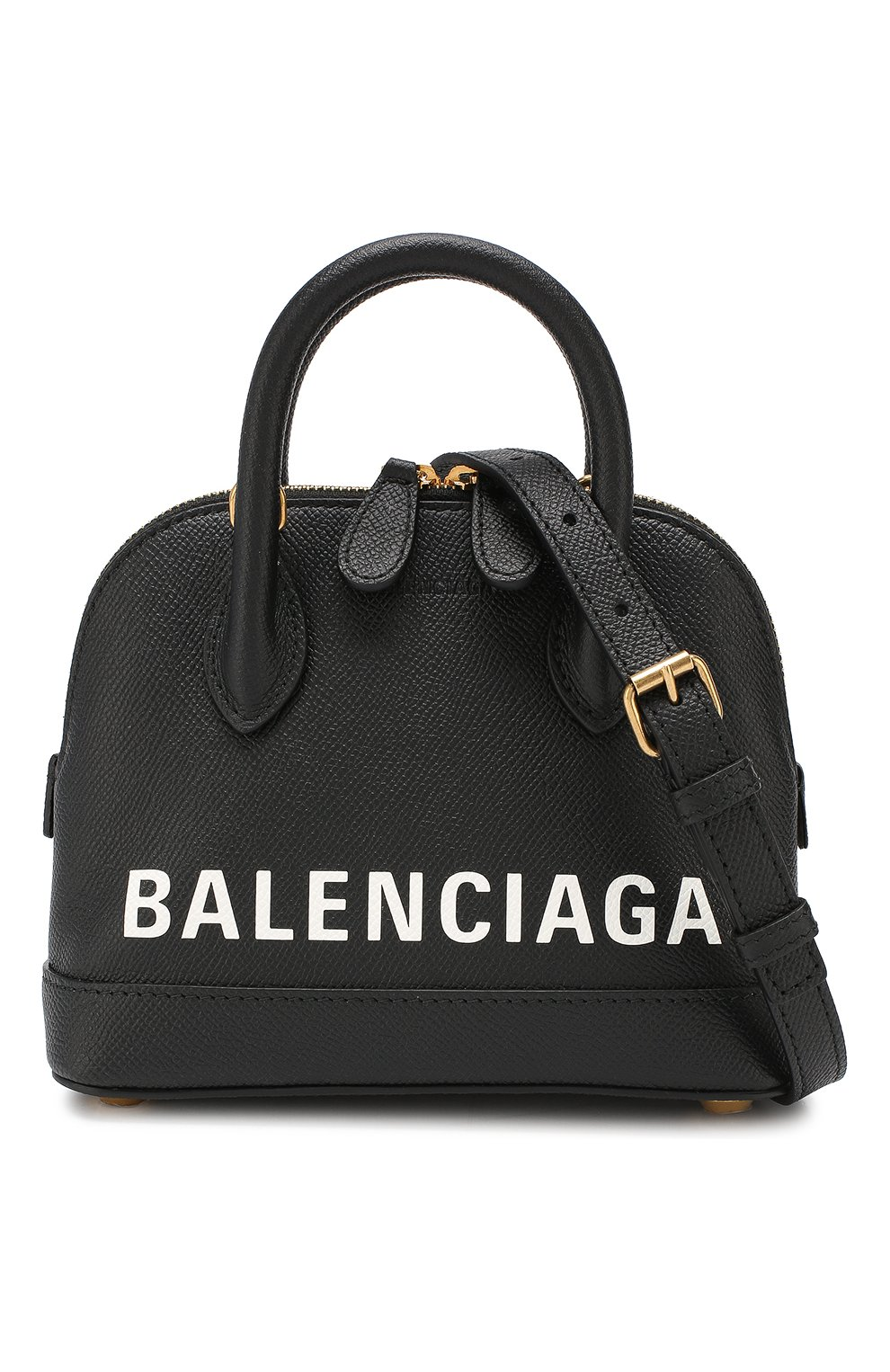 Сумка Ville XXS Balenciaga черная цвета | Фото №6
