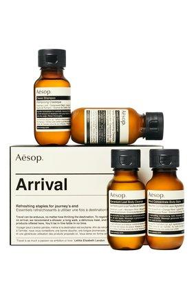 Мужского дорожный набор arrival travel kit AESOP бесцветного цвета, арт. APB217 | Фото 1