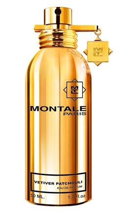 Женский парфюмерная вода vetiver patchouli MONTALE бесцветного цвета, арт. 3760260456920 | Фото 1