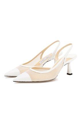 Комбинированные туфли Fetto 65 | Фото №1
