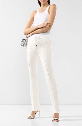 Женские брюки из смеси хлопка и шелка TOM FORD белого цвета, арт. PAJ045-FAX351 | Фото 2