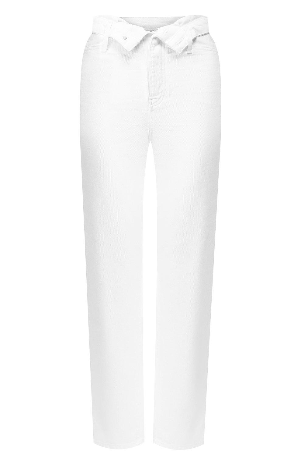 Женские джинсы DENIM X ALEXANDER WANG белого цвета, арт. 4DC2194539 | Фото 1
