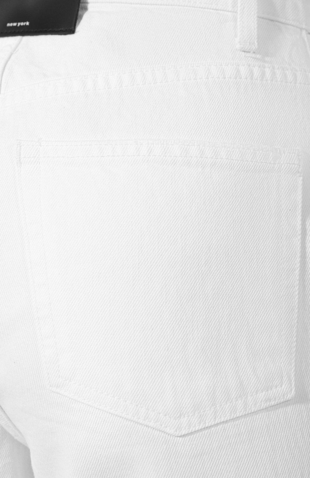Женские джинсы DENIM X ALEXANDER WANG белого цвета, арт. 4DC2194539 | Фото 5