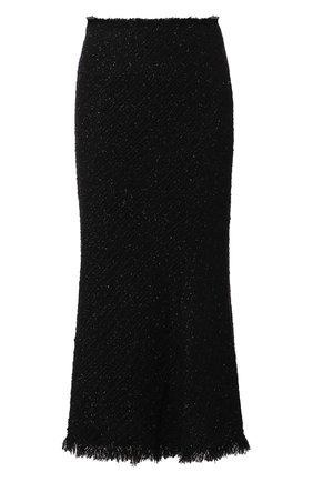 Женская юбка ALEXANDER WANG черного цвета, арт. 1WC2195105 | Фото 1