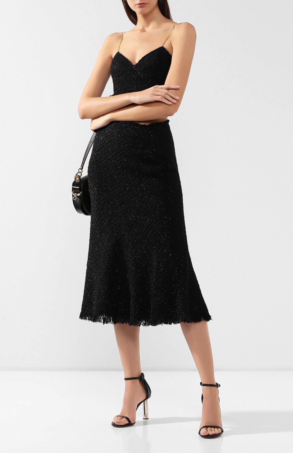 Женская юбка ALEXANDER WANG черного цвета, арт. 1WC2195105 | Фото 2