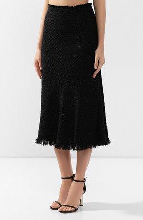 Женская юбка ALEXANDER WANG черного цвета, арт. 1WC2195105 | Фото 3