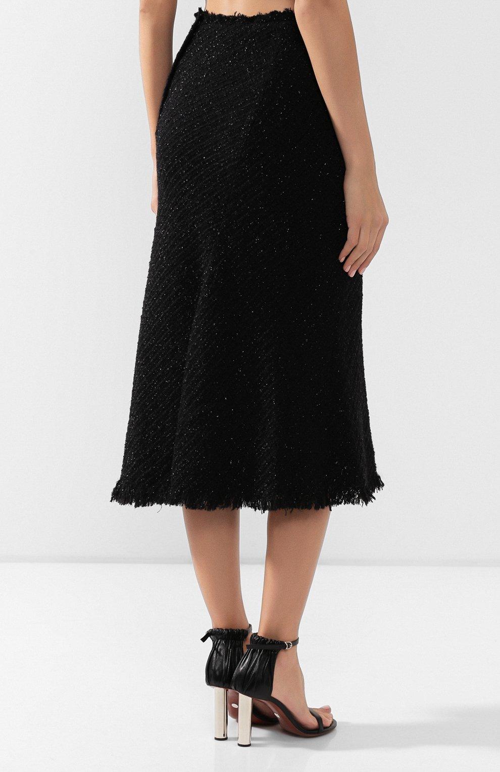 Женская юбка ALEXANDER WANG черного цвета, арт. 1WC2195105 | Фото 4