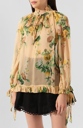 Шелковая блузка   Фото №3