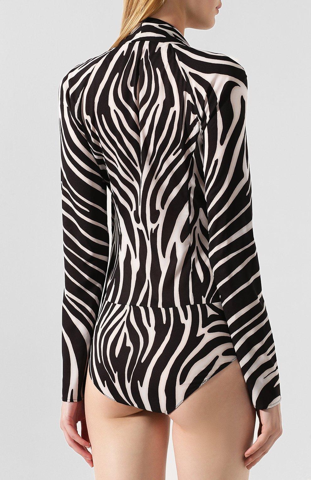 Блузка с принтом | Фото №4