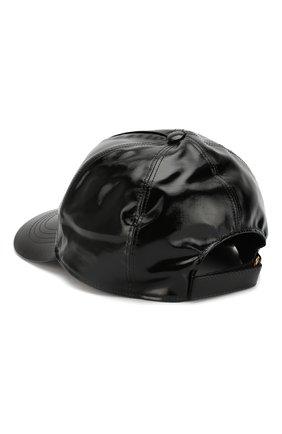 Мужской хлопковая бейсболка GUCCI черного цвета, арт. 426887/4HG80 | Фото 2