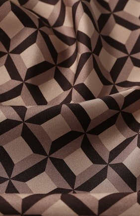 Мужской шелковый платок TOM FORD бежевого цвета, арт. 6TF101/TF312 | Фото 2