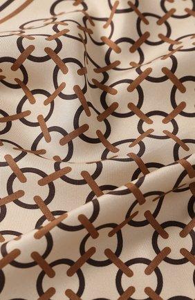 Мужской шелковый платок TOM FORD светло-бежевого цвета, арт. 6TF98/TF312 | Фото 2