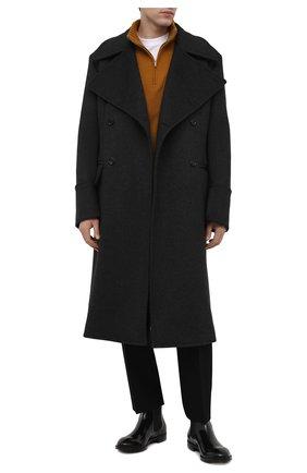 Мужские кожаные челси PREMIATA черного цвета, арт. 31308/REAL | Фото 2