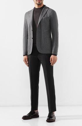 Мужской шерстяной пиджак ELEVENTY UOMO серого цвета, арт. 979JA0001 JAC24018   Фото 2