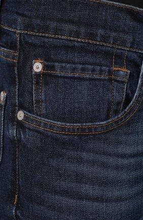 Мужские джинсы 7 FOR ALL MANKIND темно-синего цвета, арт. JSMSL390BV | Фото 5