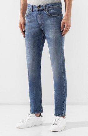 Мужские джинсы 7 FOR ALL MANKIND синего цвета, арт. JSMTL390DH | Фото 3