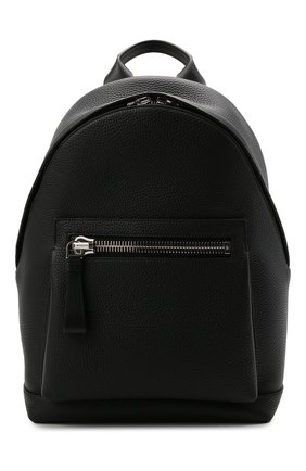 Мужской кожаный рюкзак TOM FORD черного цвета, арт. H0414P-LCL041   Фото 1