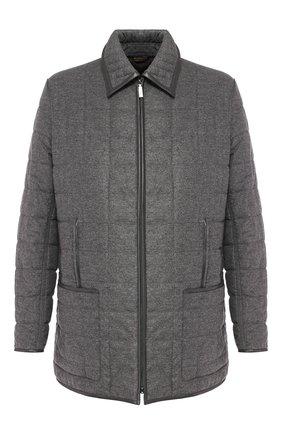 Куртка из смеси шелка и шерсти | Фото №1