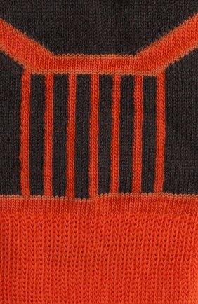 Детские шерстяные носки NORVEG оранжевого цвета, арт. 9CRCURU-192 | Фото 2