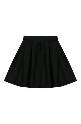 Детская юбка MONNALISA черного цвета, арт. 18CGON | Фото 2