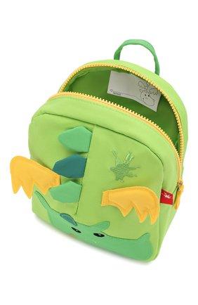 Детская рюкзак дракон SIGIKID зеленого цвета, арт. 24216 | Фото 3