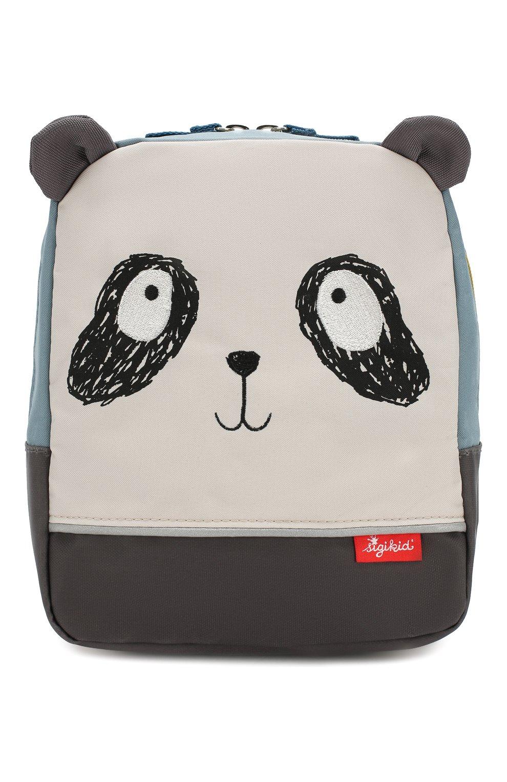 Детская рюкзак панда SIGIKID разноцветного цвета, арт. 24970 | Фото 1