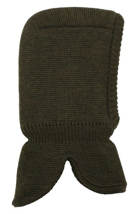 Шерстяная шапка-балаклава | Фото №1