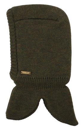 Шерстяная шапка-балаклава | Фото №2