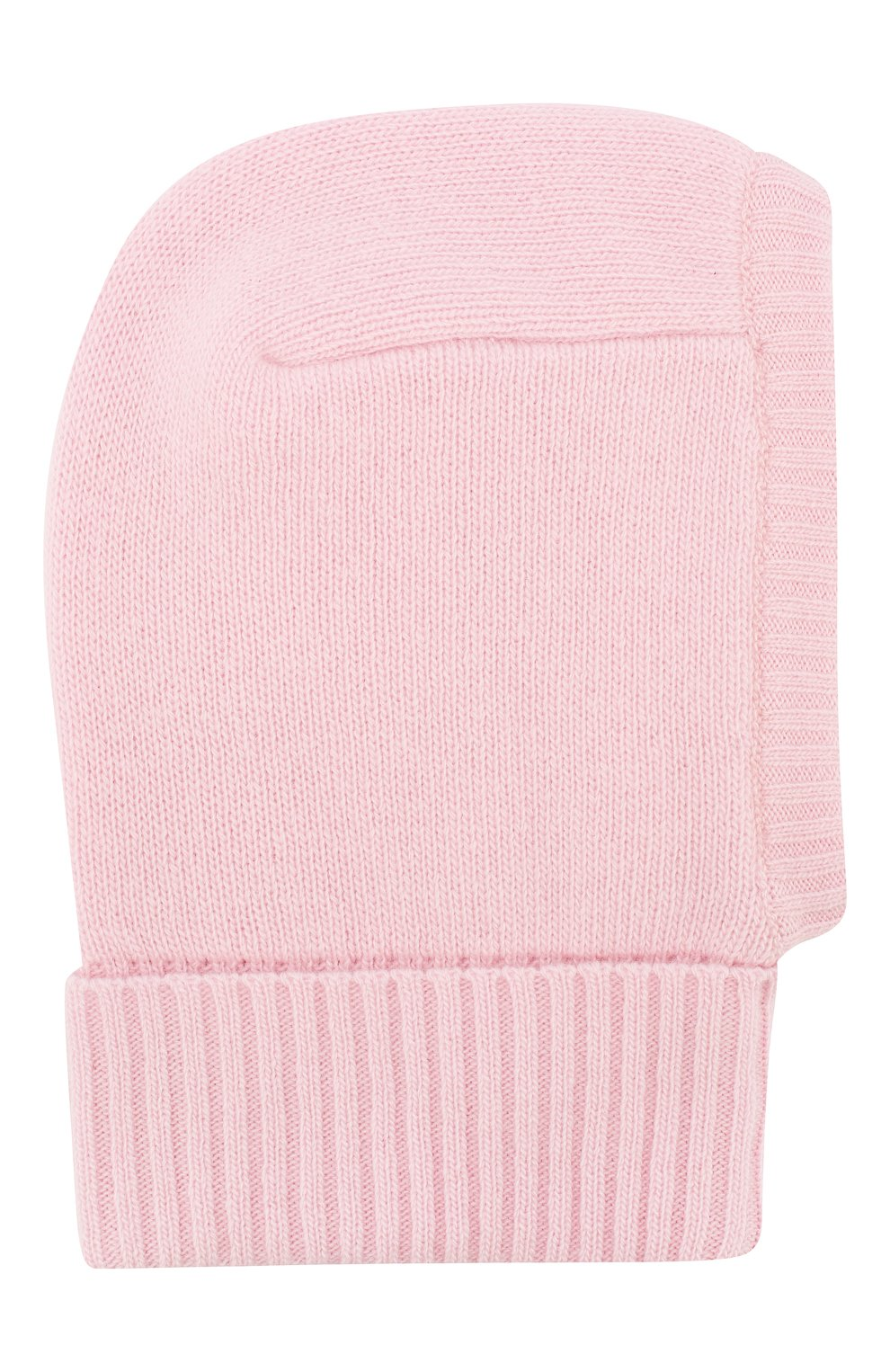 Детского шапка-балаклава из шерсти и кашемира IL TRENINO светло-розового цвета, арт. 19 6349/E0 | Фото 1