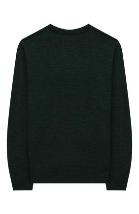 Детский шерстяной пуловер POLO RALPH LAUREN зеленого цвета, арт. 323749887 | Фото 2